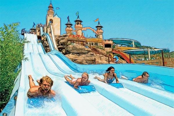 Аквапарк Dreamland в ОАЭ