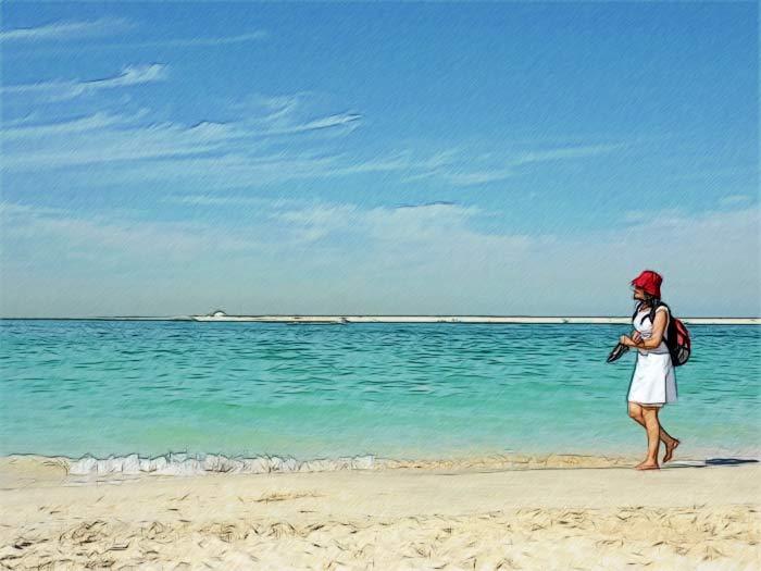 Температура воды в ОАЭ в марте