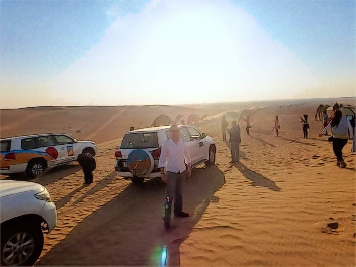 Сафари 4х4 в пустыни Дубая